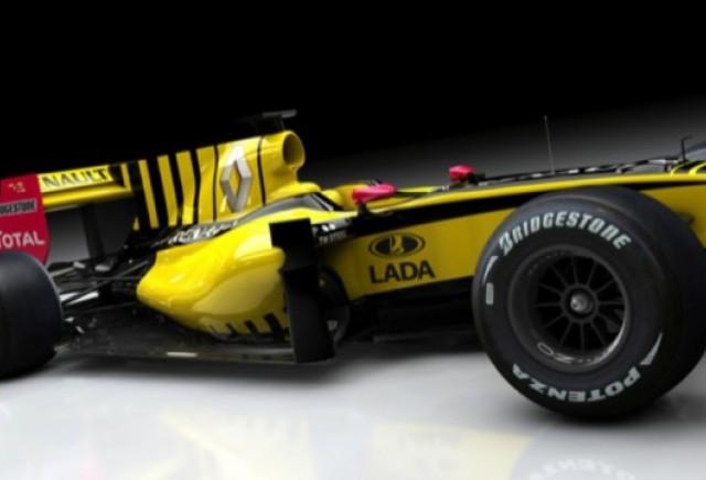 Lada a devenit partener Renault F1