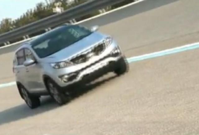 VIDEO: Kia Sportage prezentat din toate unghiurile