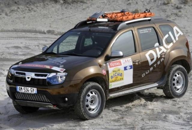 Dacia Duster va participa intr-un raliul in Sahara