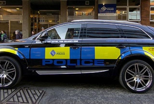 Audi Q7 ABT de politie