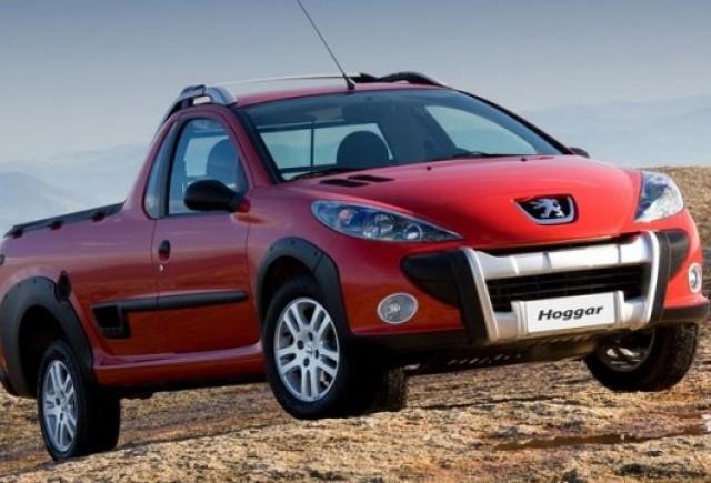 Peugeot Hoggar, pick-up pentru Brazilia