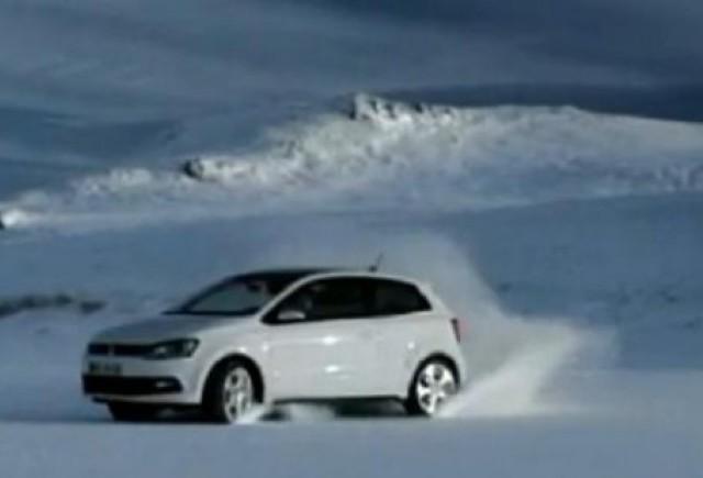 VIDEO: Noul Polo GTI isi arata talentul pe gheata