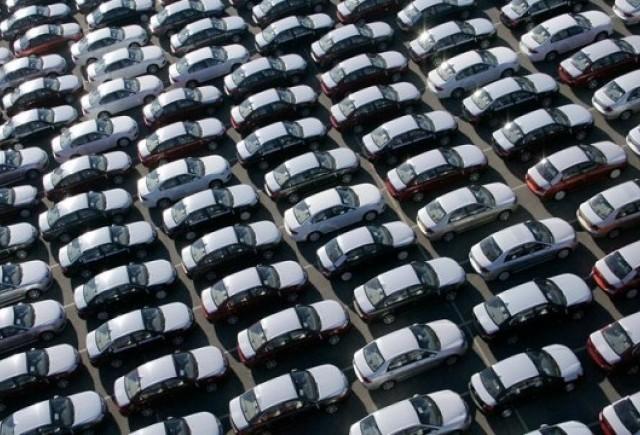 Vanzarile auto au scazut cu 51% in ianuarie 2010