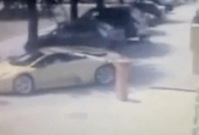 VIDEO: Cum sa parchezi pe gratis un Lamborghini Murcielago