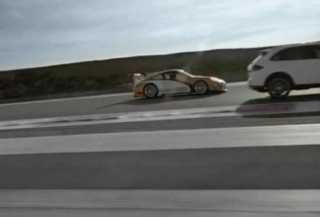 VIDEO:  Porsche 911 GT3 R Hibrid si Cayenne S Hibrid