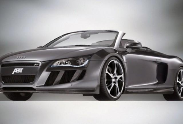 Audi R8 Spyder tunat de ABT