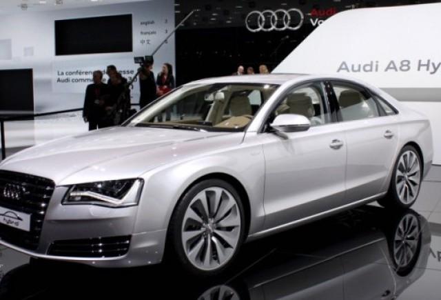 Audi pregateste mai multe versiuni hibride