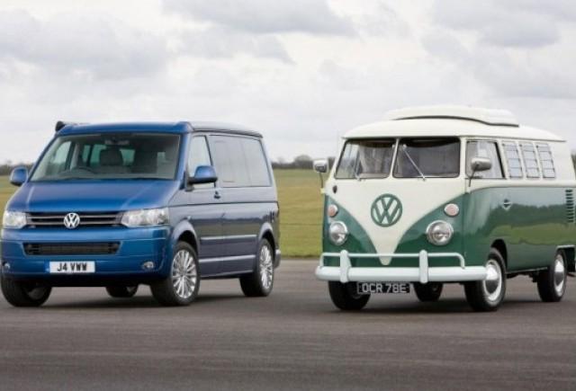 Volkswagen Transporter a implinit 60 de ani