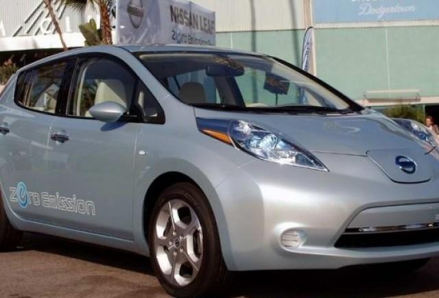 Nissan Leaf costa 38.500 dolari