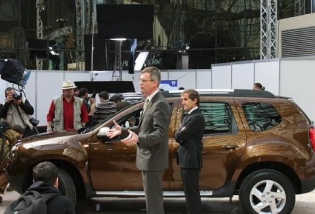 Dacia Duster a fost lansat in Romania