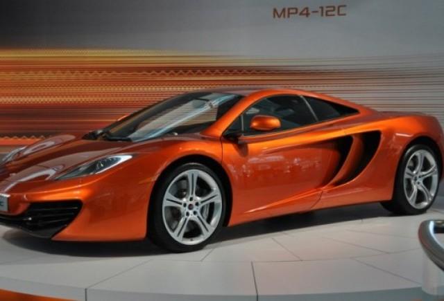 OFICIAL: McLaren MP4-12C