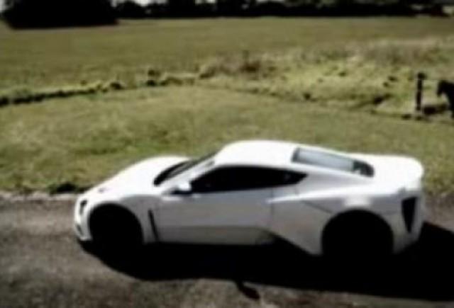 VIDEO:  Zenvo ST1, rivalul lui Bugatti Veyron