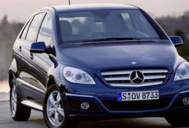 Mercedes pregateste o versiune AMG a noului B Klasse