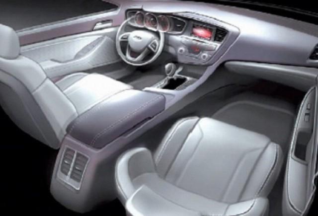 Prima imagine cu interiorul noului Kia Magentis