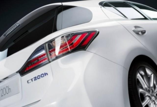 Lexus CT-200h va fi cea mai sigura masina din segmentul compact