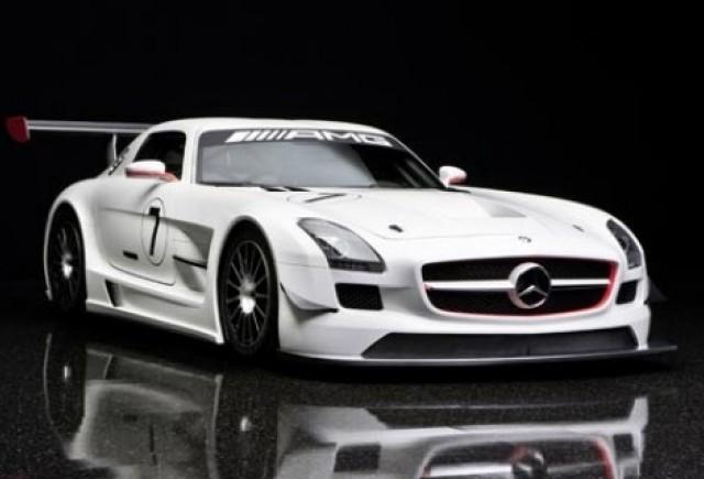 Iata noul Mercedes SLS AMG GT3!