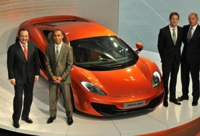 VIDEO: Lansarea supercarului McLaren MP4-12C