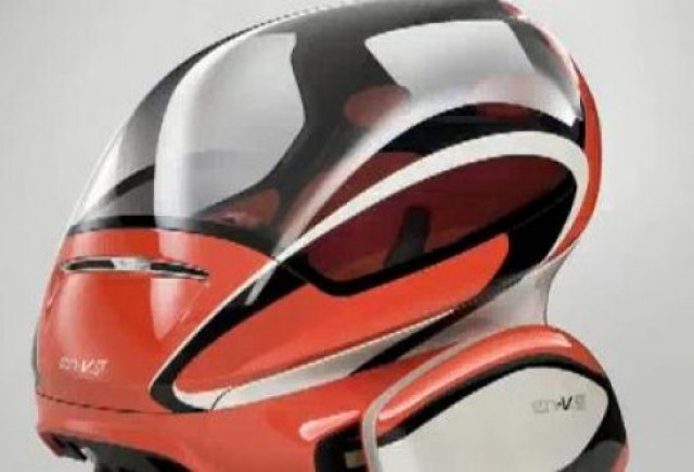 VIDEO:  Conceptul GM En-V se prezinta