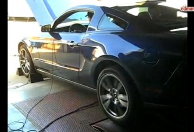 VIDEO: Inside Line testeaza noul Mustang GT