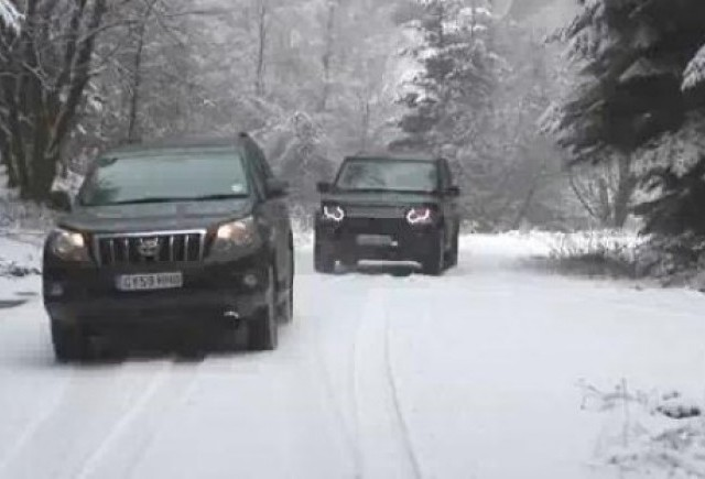 VIDEO: Infruntarea greilor din off-road: Discovery vs Land Cruiser