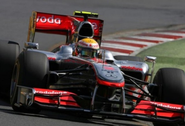 Australia: Hamilton, cel mai rapid in Antrenamentele Libere 2