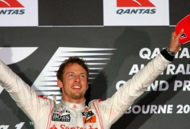 Button castiga Marele Premiul al Australiei