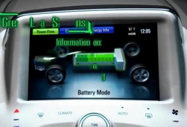 VIDEO: Sistemul de gestiune al modelului Chevrolet Volt
