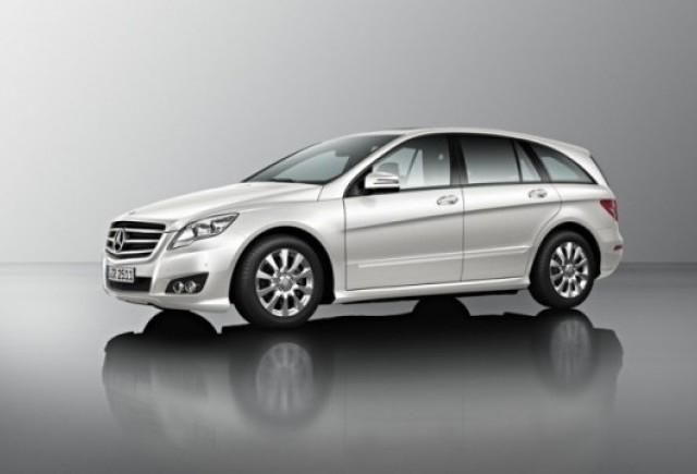 Primele imagini ale noului Mercedes R Klasse
