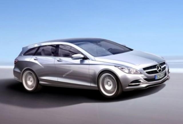 Mercedes pregateste un combi radical bazat pe CLS