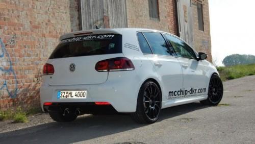Volkswagen Golf R tunat de Mcchip-dkr28612