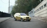 VIDEO: Rusii fac un BMW X5M din aur28597