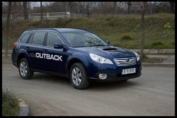 Am testat noul Subaru Outback