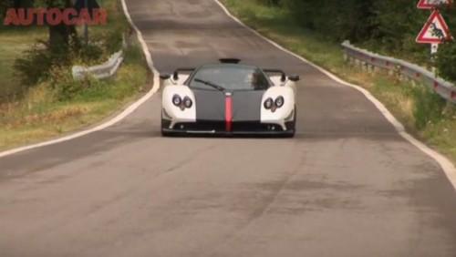 VIDEO: Pagani Zonda Cinque Roadster testat de Autocar28372