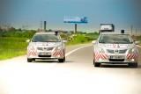 Doua Toyota Avensis vegheza asupra sigurantei traficului pe Autostrada A228258