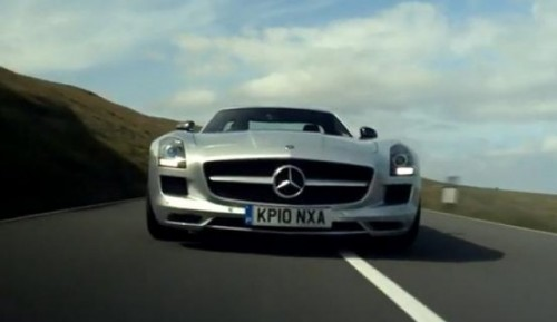 VIDEO: Mercedes SLS AMG in varianta 3D28093