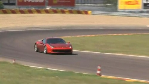 VIDEO: Ferrari 458 Italia Challenge in actiune28025