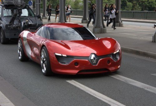 FOTO: Renault DeZir surprins in Paris27998