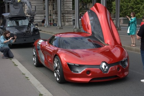 FOTO: Renault DeZir surprins in Paris28004