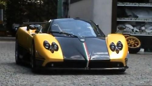 VIDEO: Singurul Pagani Zonda Cinque Roadster personalizat27832