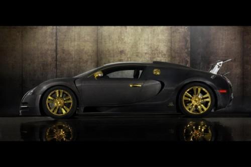 Bugatti Veyron, tunat in aur si fibra de carbon27774