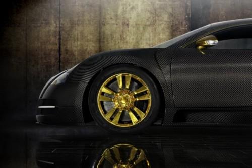 Bugatti Veyron, tunat in aur si fibra de carbon27775