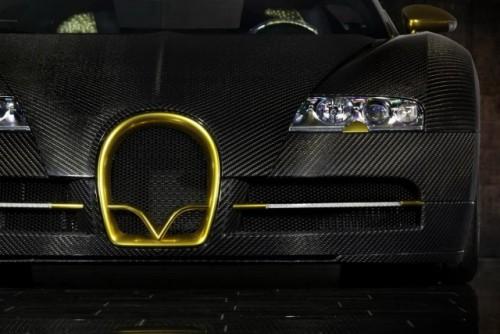 Bugatti Veyron, tunat in aur si fibra de carbon27776