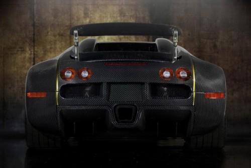 Bugatti Veyron, tunat in aur si fibra de carbon27778