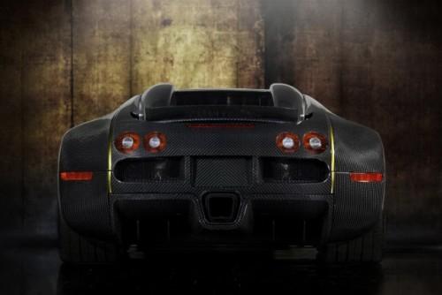 Bugatti Veyron, tunat in aur si fibra de carbon27779