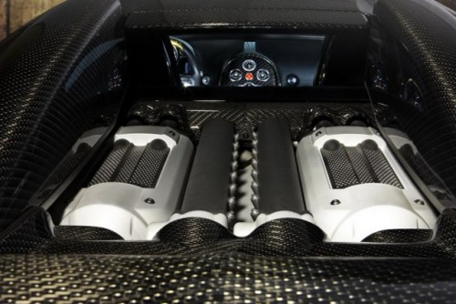 Bugatti Veyron, tunat in aur si fibra de carbon27781