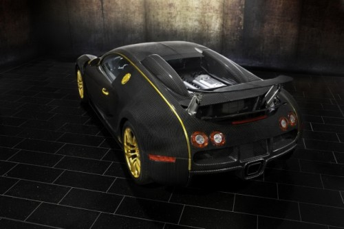 Bugatti Veyron, tunat in aur si fibra de carbon27782