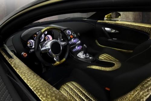 Bugatti Veyron, tunat in aur si fibra de carbon27786