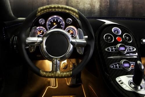 Bugatti Veyron, tunat in aur si fibra de carbon27787