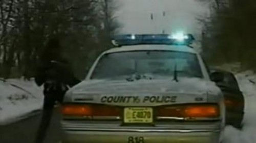 VIDEO: O femeie fura masina politiei27771