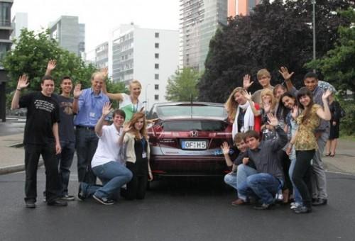 Honda FCX in demonstratie la Sesiunea Internationala a Parlamentului European al Tinerilor27745